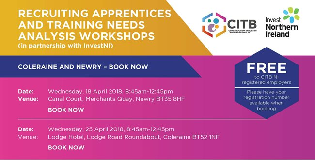 Recruiting Apprentices & Training Needs Analysis Workshops
