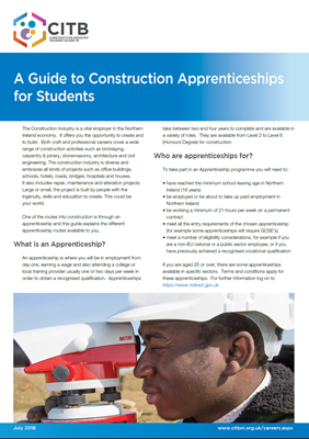 A guide to construction apprenticeships for students